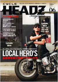 CYCLE HEADZ magazine Vol.6
